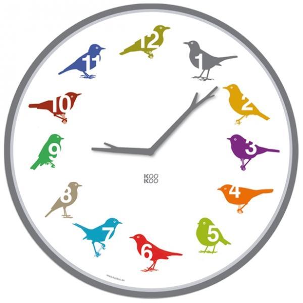 Kookoo klok zangvogels Color ultraflat