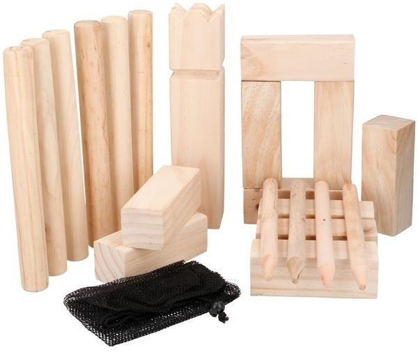 KUBB houten tuinspel