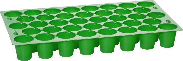 Zaai en stekplaat met 38 kweekcellen