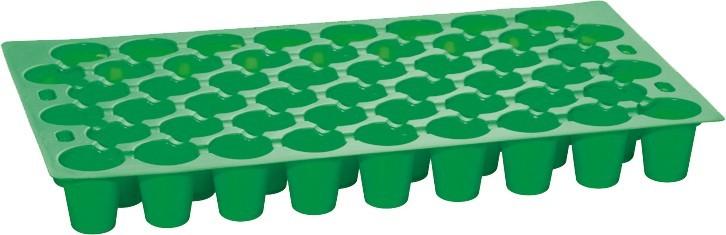Zaai en stekplaat met 51 kweekcellen