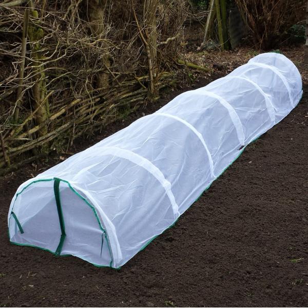 Kweektunnel insectengaas 400 x 65 x 45 cm
