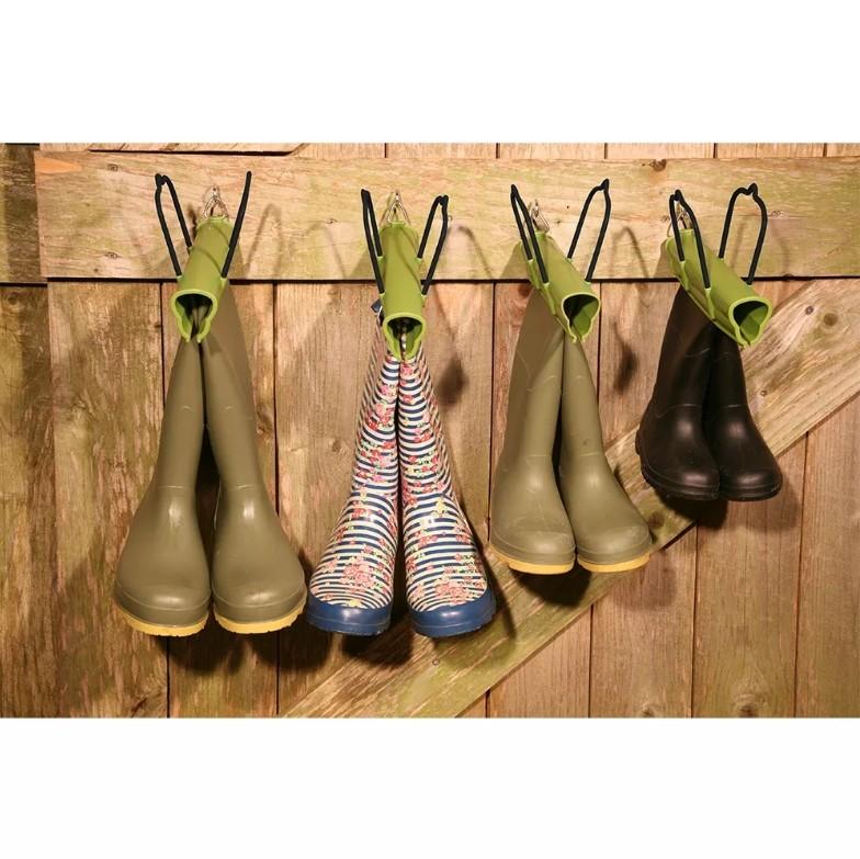 Laarzenklem voor droge laarzen zonder spinnen