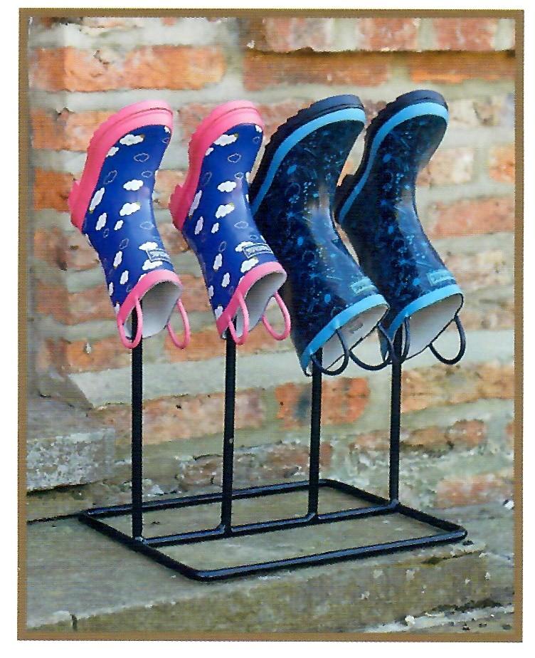 Laarzenrek Leyburn2 paar laarzen