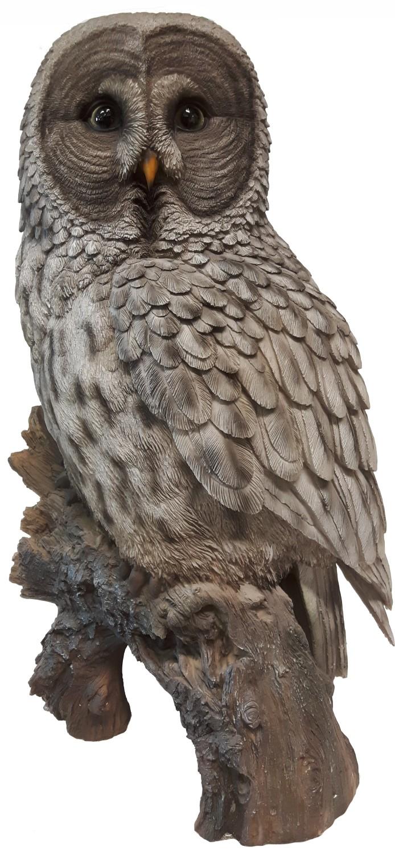Laplanduil polyresin 52 cm