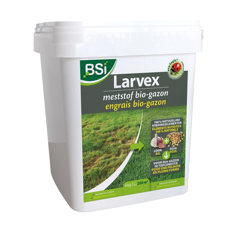 Larvex meststof BIO gazon 6 kg 200 m2