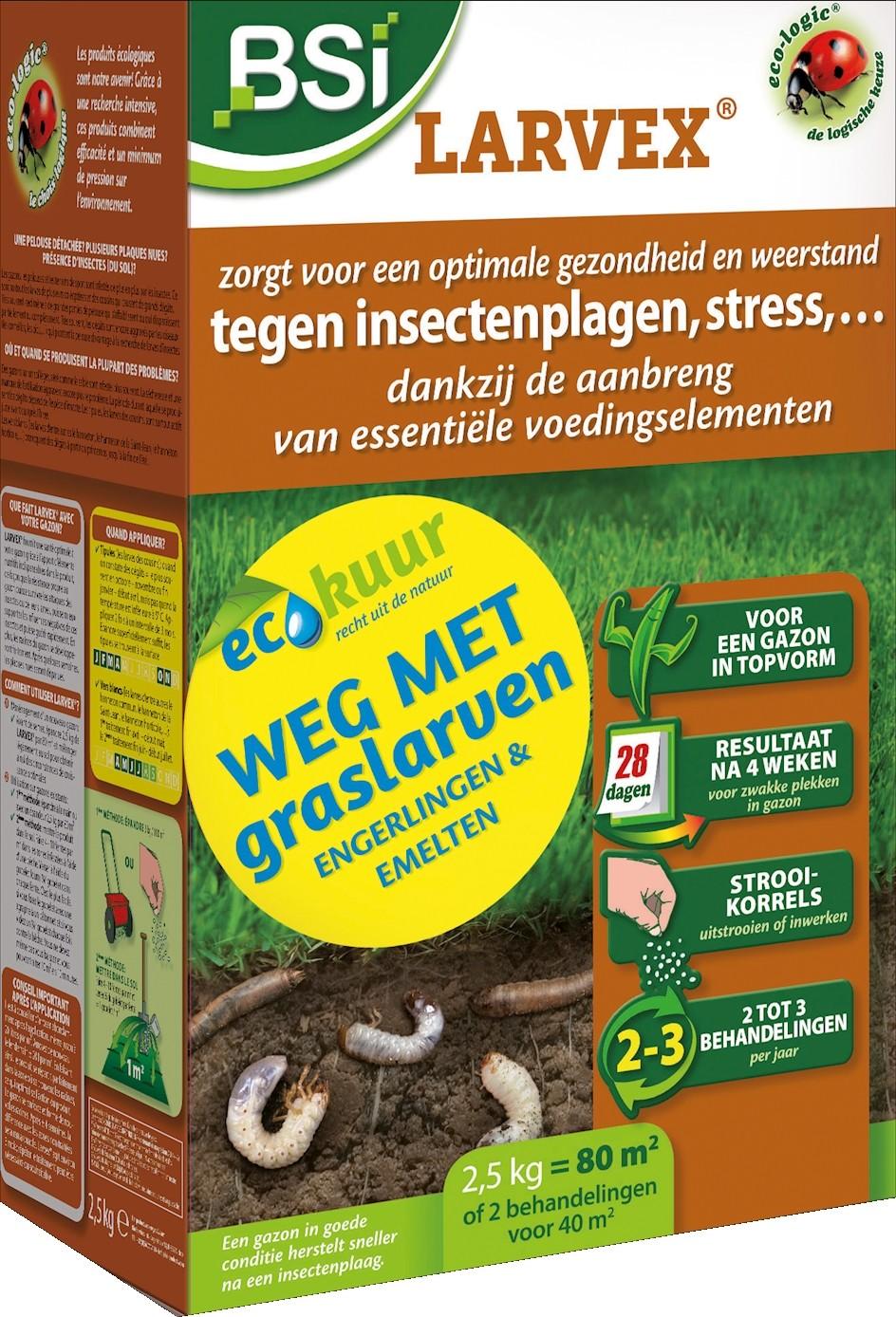 Korrels tegen graslarven engerlingen emelten25 kg