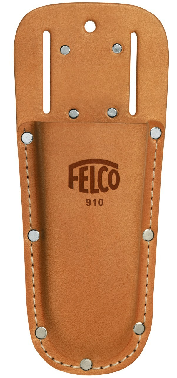Lederen holster Felco 910 voor snoei en knip scharen