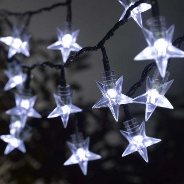 Lichtslinger 100 witte sterren 8 functies