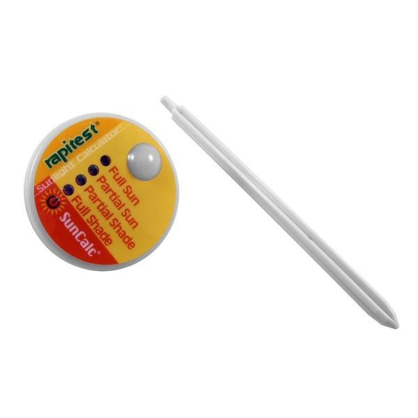 Lichtmeterzonlichtcalculator met adviesfunctie