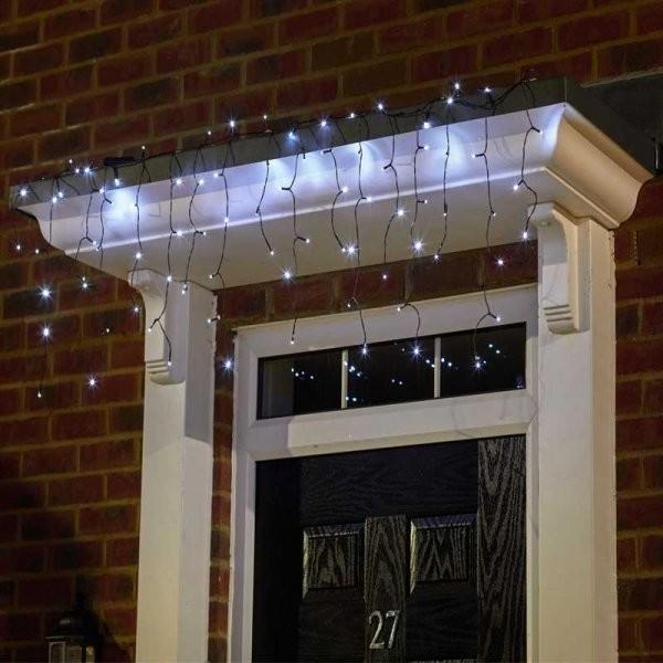 Lichtslinger waterval 110 LEDs SOLAR