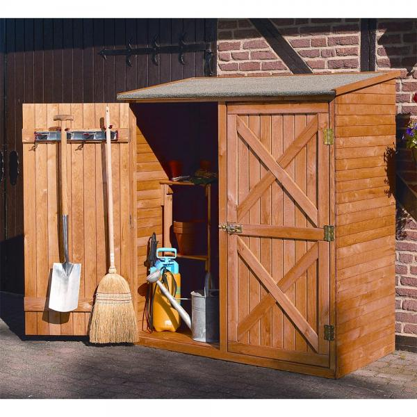 Luxe houten tuinberging 149 x 78 x 163 cm