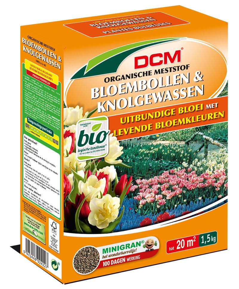 DCM organische mest voor bloembollen en knolgewassen