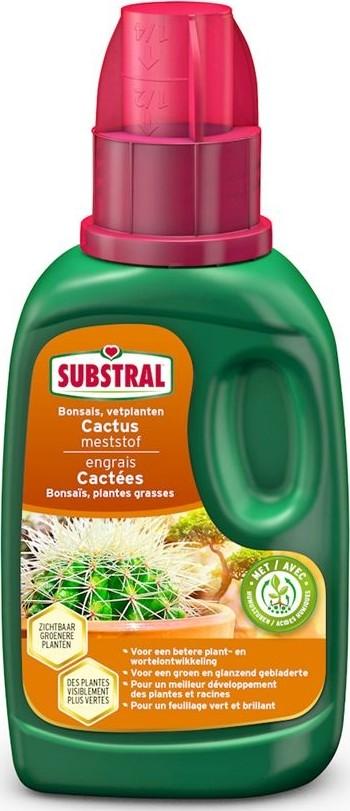 Meststof voor cactussen vetplanten en bonsais Substral 250 ml