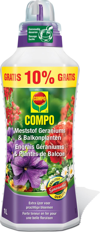 Meststof Geranium en Surfinia900100 ml gratis