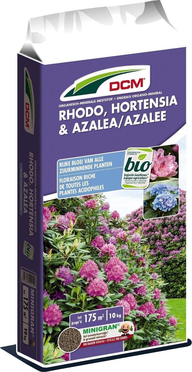 Meststof hortensia azalea rhododendron DCM 10 kg