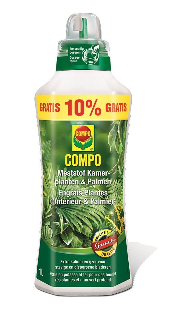 Meststof COMPO kamerplanten en palmen 1 liter