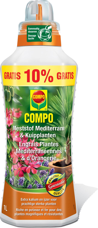 Meststof mediterrane en kuipplanten1 liter