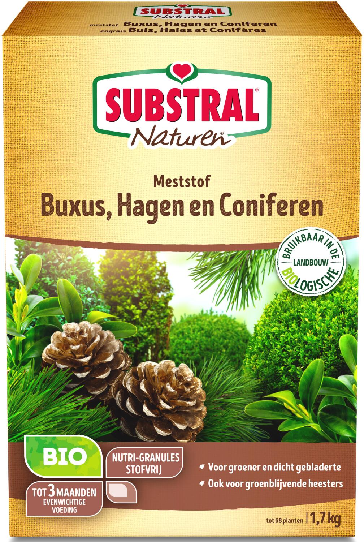Naturen meststof voor buxus en hagen17kg