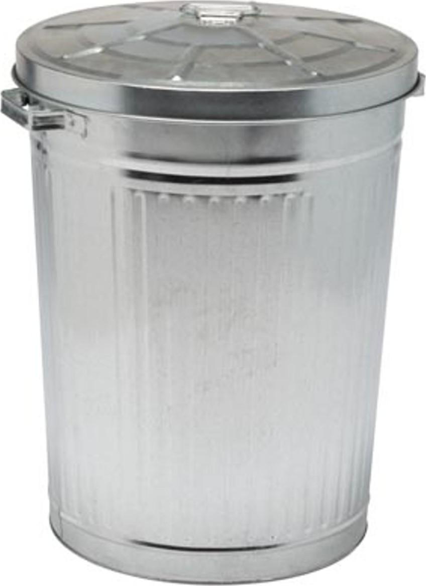 Metalen vuilnisbak 75 liter