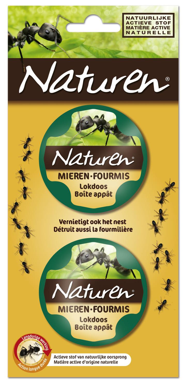 Naturen mieren 2 lokdoosjes
