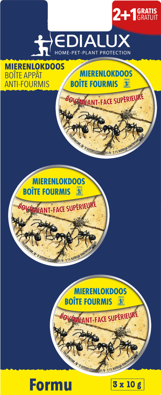 Mierenlokdoosjes 21 gratis