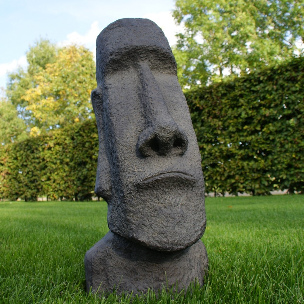 Moai tuinbeeld 60 cm