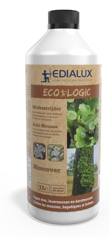 Mosbestrijder Moscover ecologic 1 liter