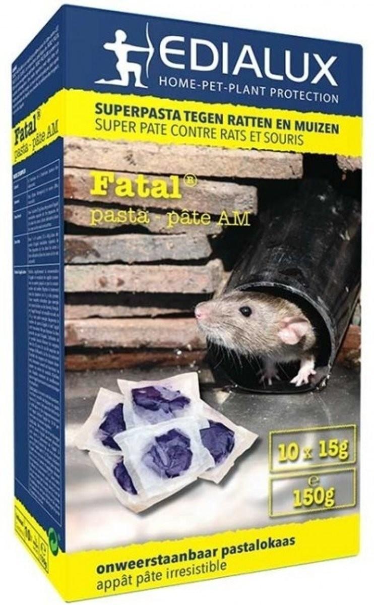 Muizen en rattengif Fatal pasta 150 gram