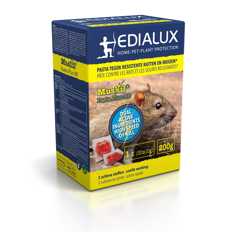 Muskil pasta tegen resistente ratten en muizen200 g