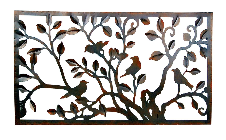 Muurdecoratie vogelpret in frame