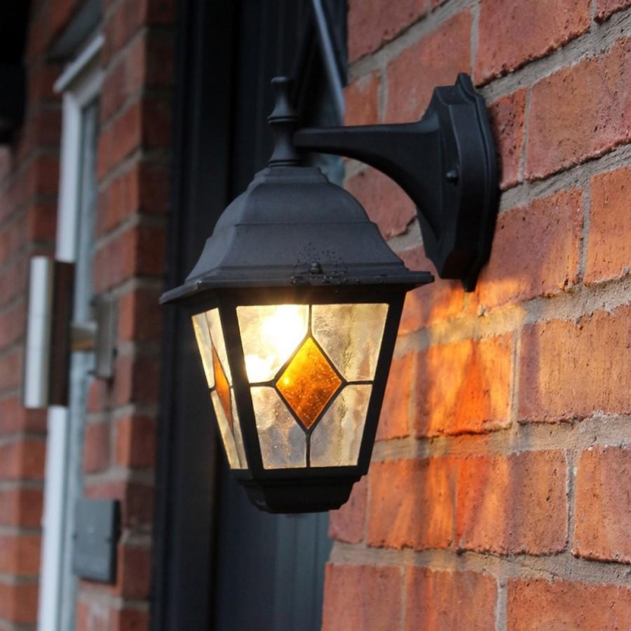 Muurlamp Victoria met lichtsensor