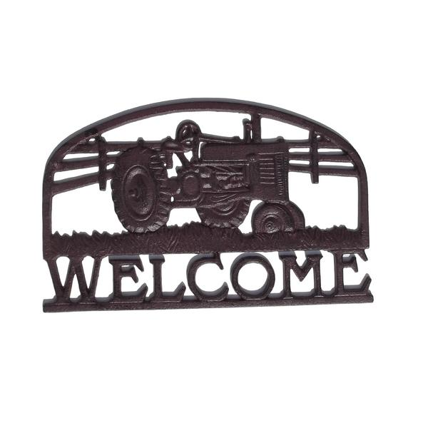 Welcomemuurplaat tractor