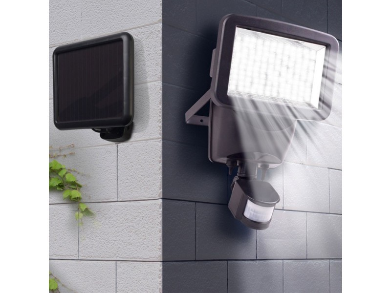 Muurspot solar 120 LED met bewegingssensor