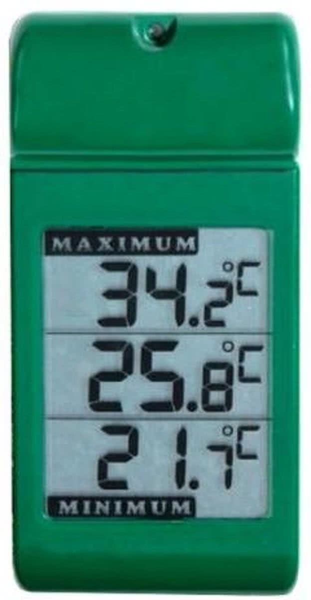 Digitale muurthermometer MinMax