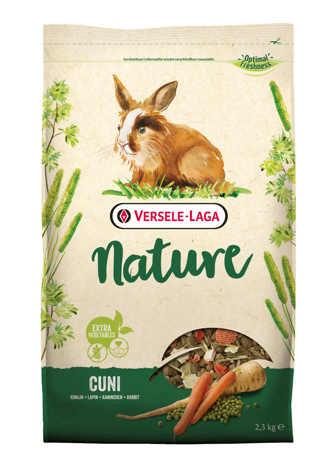 Nature Cuni droogvoer 23 kg