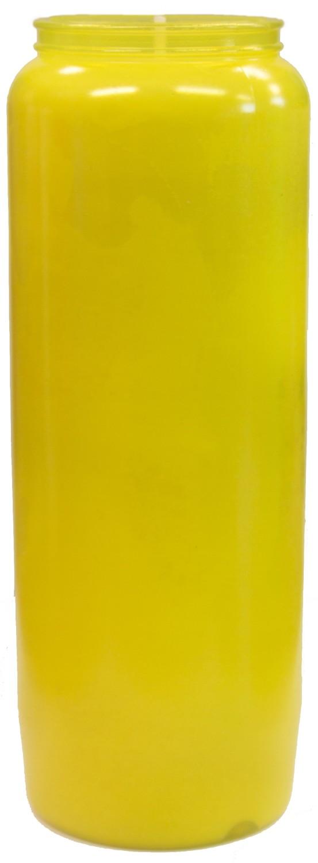 Noveenkaars geel 9 dagen brander