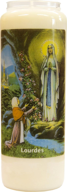 Noveenkaars Lourdes 9 dagen brander