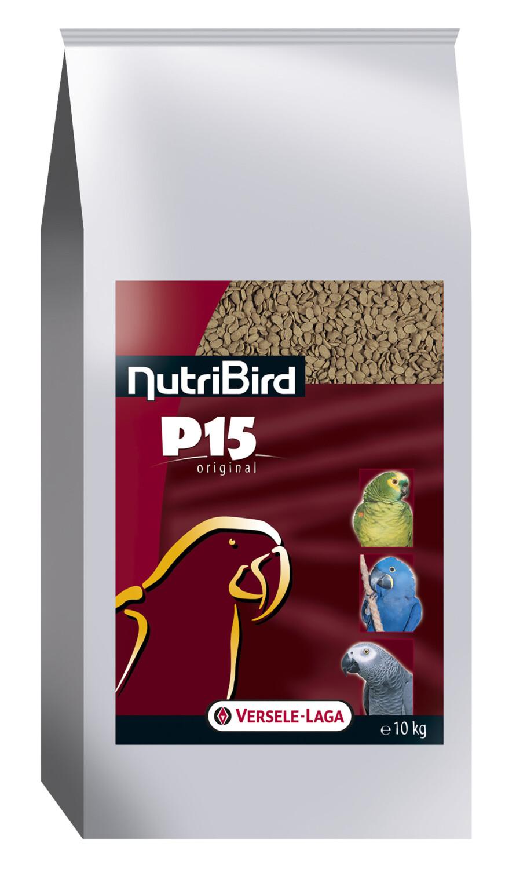 NutriBird P15 Original papegaaien onderhoudsvoer 10 kg