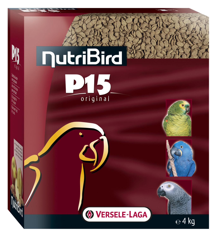 NutriBird P15 original voor papegaaien 4 kg
