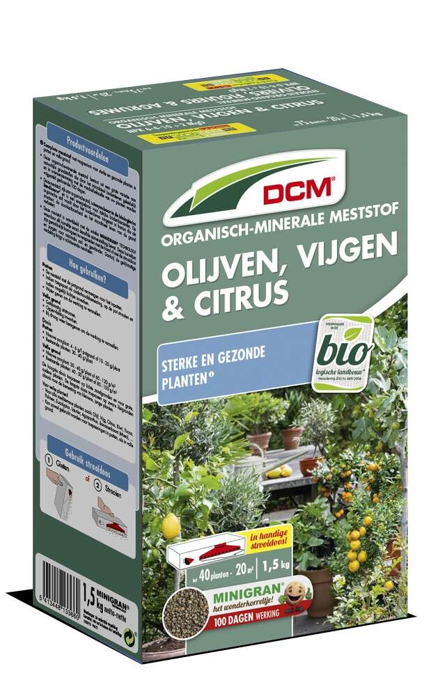 Olijvenvijgen en citrusplantenmest 15 kg