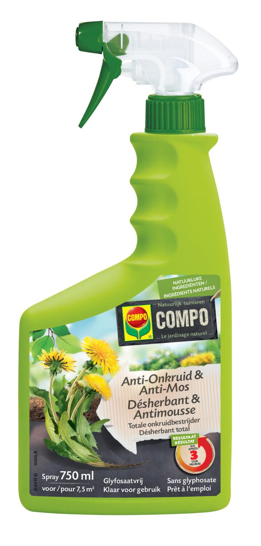 AntiOnkruid AntiMos Spray 750 ml