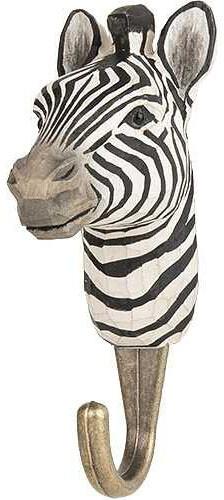 Ophanghaak zebra hout