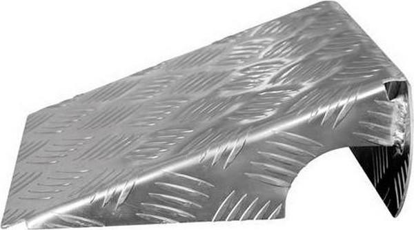 Oprijplaten aluminium