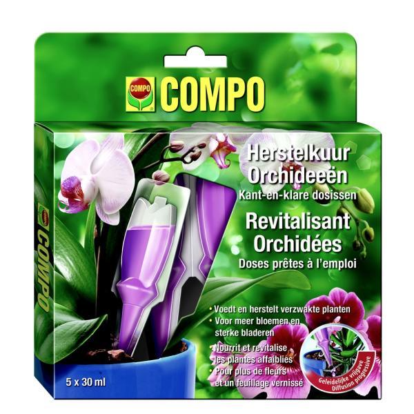Orchideen voeding en herstelkuur 5 x 30 ml