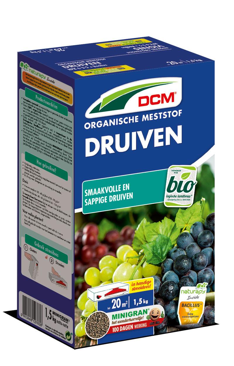 Organische meststof DRUIVEN DCM15 kg