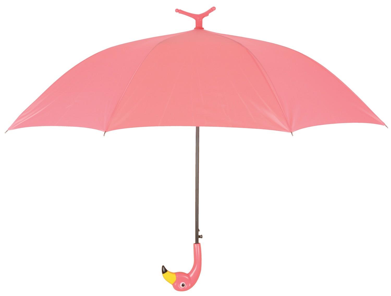 Paraplu regenscherm flamingo