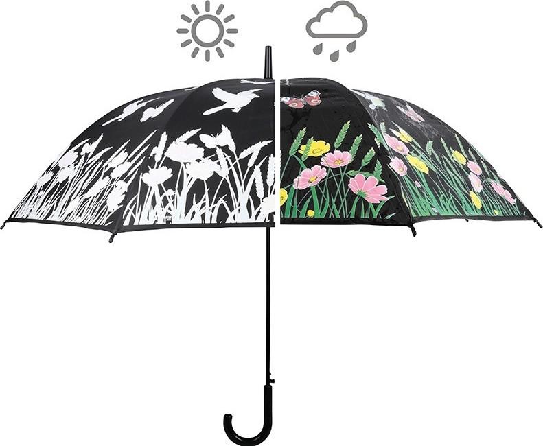 Magische van kleur veranderende paraplu