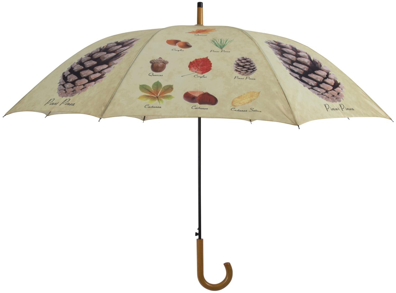 Paraplu met herfstprint 120 cm