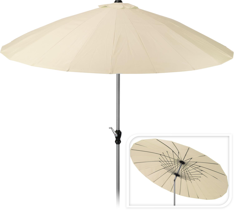Parasol Shangai270 cm crme