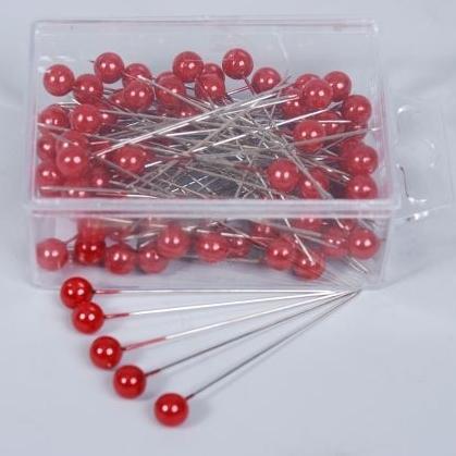 Parelspelden rood 65 mm